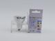 V-TAC GU10 LED lámpa 7W (38°) - meleg fehér - Utolsó darabok!