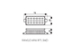 Kanlux LED lámpa R7s (6W/120°) meleg fehér Rango Mini SMD 78 mm