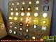 Oldalfali LED lámpa - Fa előlap wenge színben (1W)