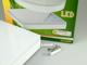 GreenLUX Kültéri mennyezeti LED lámpa négyzet (12W) - meleg fehér