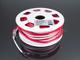 V-TAC LED Neon csík (flexibilis) 24V - 8W - piros - 10 méter Kifutó!