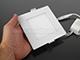 V-TAC ECO LED panel (négyzet alakú) 6W - term. fehér