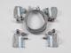 INESA - LED panel függesztő drót-sodrony: csavaros sodrony rögzítés