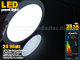 Optonica Mini kör LED panel (300 mm) 24W - hideg fehér