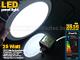 Mini kör LED panel (300 mm) 25W - hideg fehér