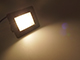 Asalite LED reflektor (30W/120°) - fekete - 4500K