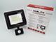 Asalite LED reflektor (30W/120°) - fekete - 4500K - mozgásérzékelős