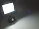 Asalite LED reflektor (30W/120°) - fekete - 6500K - mozgásérzékelős