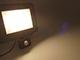 Asalite LED reflektor (50W/120°) - fekete - 4500K - mozgásérzékelős