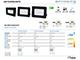 SMD2 LED reflektor fekete (100W/100°) - Hideg fehér