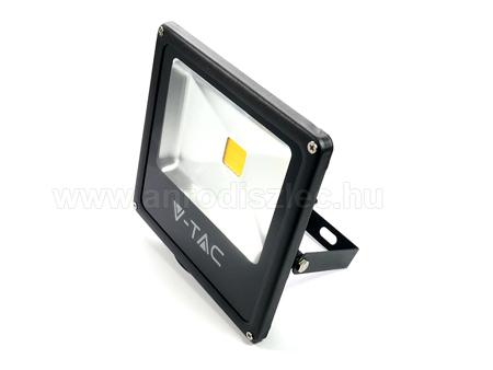 V-TAC 20W LED reflektor - COB LED (Vékony) Hideg fehér