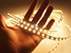 Special LED LED szalag beltéri 2835-80 (24 Volt) - meleg fehér (160+lm/W)