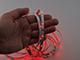 ANRO LED LED szalag beltéri 3528-30 (12 Volt) - piros