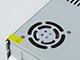 ANRO Power LED tápegység 12 Volt - fém házas, ipari (300W/25A) ventilátor