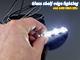 RS Üveglap világító LED: Clip (0.24W) - Hideg fehér