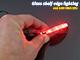 RS Üveglap világító LED: Clip (0.24W) - Piros