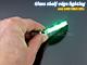 RS Üvegpolc világító LED: Clip (0.24W) - Zöld