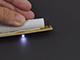 LED vészvilágító lámpatest - lefelé mutató nyíllal