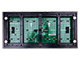 LEDTech Világító LED reklámtábla - fényújság, USB (P10 Fehér) 32x128 cm