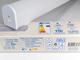 V-TAC Ledes fali tükör lámpa Fine (10W) term. fehér, fehér vég