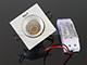 Kanlux COB LED Spot lámpatest (négyzet, fehér, bill.) 8.5W meleg fényű