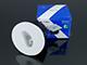 V-TAC Lépcsőbe építhető LED lámpa 3W - kör -meleg fehér - Kifutó termék!
