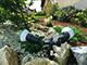 V-TAC Leszúrható kerti lámpatest dupla E27 foglalattal (IP44)