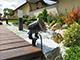 V-TAC Leszúrható kerti lámpatest GU10 foglalattal, fekete