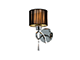 Elmark Lilly antik oldalfali lámpatest (1xE27) - króm