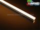 Lumines Alu profil eloxált (Type-A) LED szalaghoz, félig átlátsz