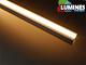 Lumines Type-B - Aluminium süllyeszthető U profil LED szalaghoz, átlátszó burával