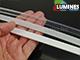 Lumines Alu profil eloxált (Type-B) LED szalaghoz, átlátszó