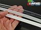 Lumines Type-C - Aluminium sarokprofil LED szalagos világításhoz, félig átlátszó burával