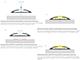 Lumines Reto Alu profil jobb oldali végzáró és sarokelem, 30°-os, ezüst Kifutó!