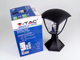V-TAC Matte Lawn kültéri álló lámpa 30 cm, IP44 (E27)