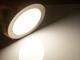 V-TAC Mattkróm LED panel (kör alakú) 12W - természetes fehér