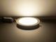 V-TAC Mattkróm LED panel (kör alakú) 18W - természetes fehér