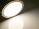 V-TAC Mattkróm LED panel (kör alakú) 24W - természetes fehér