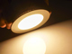 V-TAC Mattkróm LED panel (kör alakú) 6W - meleg fehér