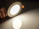 V-TAC Mattkróm LED panel (kör alakú) 6W - természetes fehér