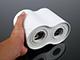 Kanlux Falon kívüli spot lámpatest Bord DLP-250, dupla,  fehér (GU10)