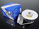 V-TAC Beépíthető LED lámpa 10W (135 mm, kerek) hideg f.