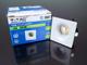 V-TAC Spot LED lámpa, fix, négyzet, fehér (3W) meleg fehér