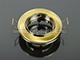 Álmennyezeti szpot SA-91 billenthető, szatén arany és króm