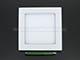 Mini négyzet LED panel (170x170 mm) 12W - meleg fehér