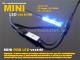 ANRO LED Mini RGB LED vezérlő - nyomógombos - (12V/24V) 144/288W BL