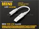 ANRO LED Mini RGB LED vezérlő - nyomógombos - (12V/24V) 144/288W