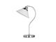 Elmark Molly antik asztali lámpa (1xE27) nikkel-fehér