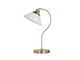 Elmark Molly antik asztali lámpa (1xE27) réz-fehér