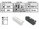 V-TAC Mikrohullámú mozgásérzékelő (IP65) - fekete